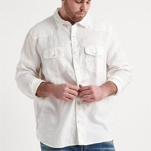 Big & Tall French Linen Western